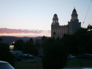 Manti Utah Temple which some of my ancestors help to build