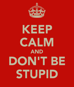 keep-calm-and-don-t-be-stupid