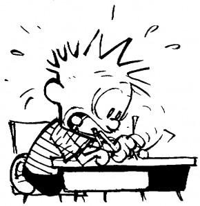Writing-furiously
